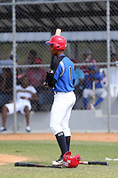 Steven German participates in the Dominican Prospect League 2014 Louisville Slugger Tournament at the New York Yankees academy in Boca Chica, Dominican Republic on January 20-21, 2014 (Bill Mitchell)