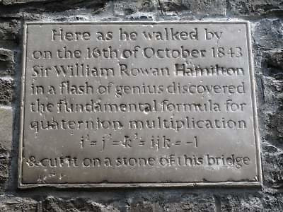 …..a piece of inspired graffiti which has now been given retrospective respectability through proper commemoration.