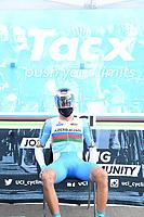 Picture by Simon Wilkinson/SWpix.com - 25/09/2020 - Cycling - UCI 2020 Road World Championships IMOLA - EMILIA-ROMAGNA ITALY - ITT Individual Time Trial Elite Men - Elchin Asadov of Azerbaijan. - TACX