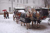 Saltzburg - Austria, Horse drawn Carriage