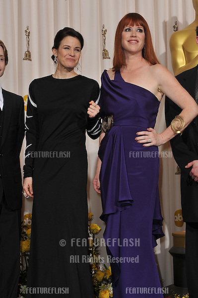 Ally Sheedy & Molly Ringwald at the 82nd Academy Awards at the Kodak Theatre, Hollywood..March 7, 2010  Los Angeles, CA.Picture: Paul Smith / Featureflash.