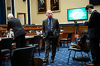 Anthony Fauci, director of the National Institute of Allergy and Infectious Diseases, is seen during a break from a United States House Energy and Commerce Committee hearing in Washington, D.C., U.S., on Tuesday, June 23, 2020. Trump administration health officials will tell lawmakers that their agencies are preparing for a flu season that will be complicated by the coronavirus pandemic.<br /> Credit: Sarah Silbiger / Pool via CNP/AdMedia