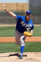 Blake Wood  - Kansas City Royals - 2009 spring training.Photo by:  Bill Mitchell/Four Seam Images
