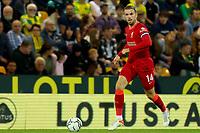 21st September 2021; Carrow Road, Norwich, England; EFL Cup Footballl Norwich City versus Liverpool; Jordan Henderson of Liverpool