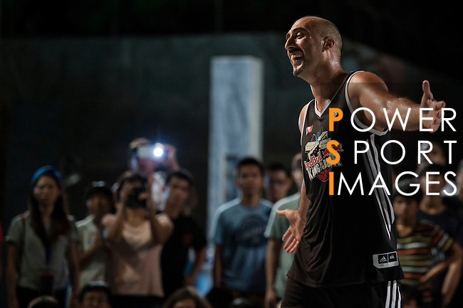 Athletes compete during Red Bull King of the Rock World Finals at the Green Island Human Rights Memorial Park in Samasana Island, Taiwan on 6th September 2014. Photo by Victor Fraile / Power Sport Images
