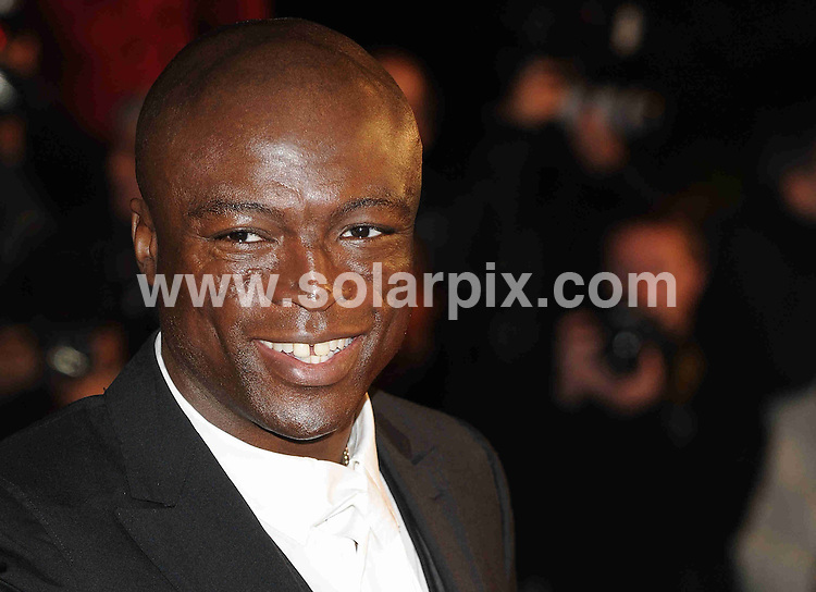 **ALL ROUND PICTURES FROM SOLARPIX.COM**.**WORLDWIDE SYNDICATION RIGHTS**.The Red carpet arrivals at the NRJ Music Awards 2009 Held at the Palais De Festivals, Cannes, France. .This pic: Seal..JOB REF: 8250 /8259-SSD     DATE:17-01-09..**MUST CREDIT SOLARPIX.COM OR DOUBLE FEE WILL BE CHARGED* *ONLINE USAGE FEE £50.00 PER PICTURE - NOTIFICATION OF USAGE TO PHOTO@SOLARPIX.COM*
