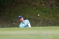 3rd July 2021; Mount Juliet Golf Club, Kilkenny, Ireland; Dubai Duty Free Irish Open Golf, Day Three; Matthew Jordan of England chips from the 3rd green side bunker