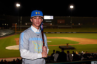 Matthew Poblete during the Under Armour All-America Tournament powered by Baseball Factory on January 17, 2020 at Sloan Park in Mesa, Arizona.  (Zachary Lucy/Four Seam Images)