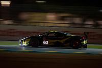 #60 Iron Lynx Ferrari 488 GTE EVO LMGTE Am, Claudio Schiavoni, Paolo Ruberti, Raffaele Giammaria, 24 Hours of Le Mans , Free Practice 2, Circuit des 24 Heures, Le Mans, Pays da Loire, France
