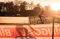 Jarno Bellens (BEL/Pauwels Sauzen - Bingoal)<br /> <br /> Superprestige Boom (BEL) 2020<br /> Men's Race<br /> <br /> ©kramon