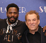 """Colman Domingo and Des McAnuff attends the Meet & Greet for """"Summer: The Donna Summer Musical"""" on March 8, 2018 at the New 42nd Street Studios,  in New York City."""