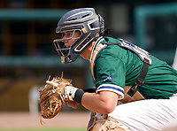 McKeel Academy Wildcats catcher Andrew Sundean (6) during practice before the 42nd Annual FACA All-Star Baseball Classic on June 5, 2021 at Joker Marchant Stadium in Lakeland, Florida.  (Mike Janes/Four Seam Images)