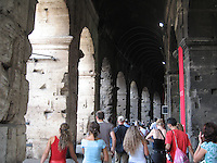 Following in the footsteps of history - Colosseum, Rome