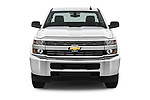 Car photography straight front view of a 2018 Chevrolet Silverado 2500HD Work Truck Regular Cab  2 Door Pick Up