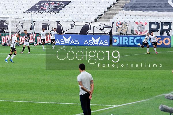 São Paulo (SP), 11/05/2021 - CORINTHIANS-INTER DE LIMEIRA - Gol do Corinthians. Corinthians e Inter de Limeira se enfrentam em jogo unico pelas quartas de final do Campeonato Paulista 2021, na Neo Quimica Arena, tarde desta terça-feira (11).