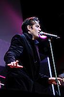 Travis Ledoyt performing as Elvis Presley at Voodoo Lounge of Harrah's Casino in St. Louis, MO on June 24, 2010.