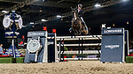 Denis Lynch of Ireland riding Querida in action during the Longines Grand Prix as part of the Longines Hong Kong Masters on 15 February 2015, at the Asia World Expo, outskirts Hong Kong, China. Photo by Victor Fraile / Power Sport Images