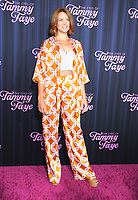 September 14, 2021.Erin Richards attend Searchlight Pictures premiere of The Eyes of Tammy Faye  at<br /> SVA Theatre in New York September 14, 2021 Credit:RW/MediaPunch
