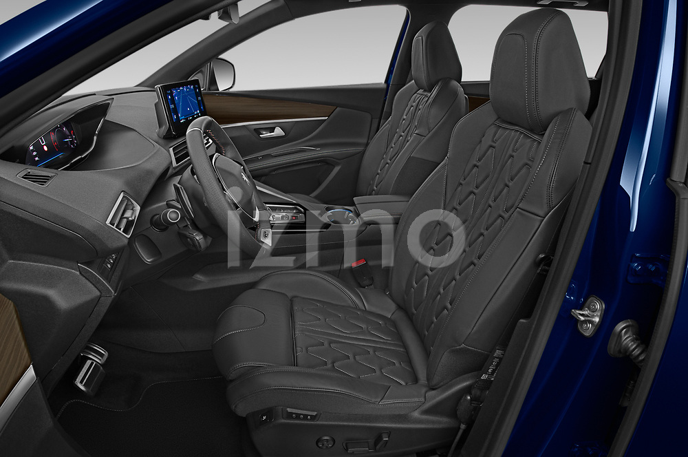 Front seat view of 2021 Peugeot 5008 GT 5 Door SUV Front Seat  car photos