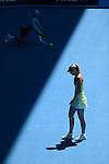 Maria SHARAPOVA (RUS) loses at Australian Open in Melbourne Australia on 24th January 2013