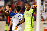 Harrison, NJ - Friday July 07, 2017: Luis López during a 2017 CONCACAF Gold Cup Group A match between the men's national teams of Honduras (HON) vs Costa Rica (CRC) at Red Bull Arena.