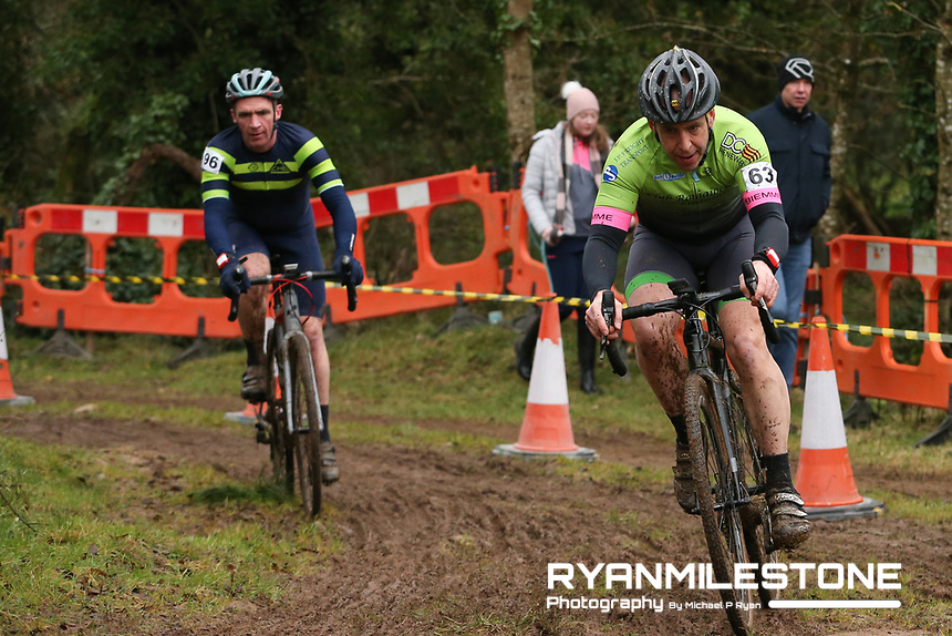 EVENT:<br /> Round 5 of the 2019 Munster CX League<br /> Drombane Cross<br /> Sunday 1st December 2019,<br /> Drombane, Co Tipperary<br /> <br /> CAPTION:<br /> Noel Harrington of Club Rothaiochta Na Sionainne in action during the B Race<br /> <br /> Photo By: Michael P Ryan