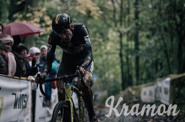 Toon Aerts (BEL/Telenet Fidea Lions)<br /> <br /> Elite Men's race<br /> Superprestige Gavere / Belgium 2017