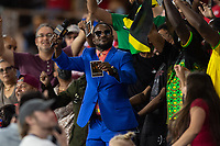 ORLANDO, FL - JULY 20: Gold Cup PA during a game between Costa Rica and Jamaica at Exploria Stadium on July 20, 2021 in Orlando, Florida.