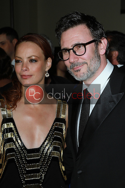 Berenice Bejo and Michel Hazanavicius<br />