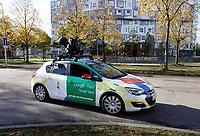 Nederland Utrecht 2018. De Uithof. Google Maps Street View auto.  Foto Berlinda van Dam / Hollandse Hoogte