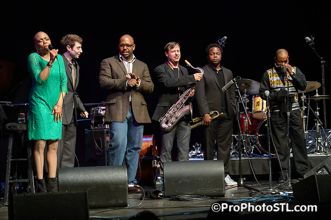 Monterey Jazz Festival on Tour 55th Anniversary show at Touhill in St. Louis, MO on April 19, 2013.