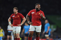 Mathieu Bastareaud of France during Match 5 of the Rugby World Cup 2015 between France and Italy - 19/09/2015 - Twickenham Stadium, London <br /> Mandatory Credit: Rob Munro/Stewart Communications