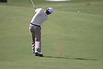 Padraig Harrington plays his 2nd shot on the 1st hole during  Day 2 at the Dubai World Championship Golf in Jumeirah, Earth Course, Golf Estates, Dubai  UAE, 20th November 2009 (Photo by Eoin Clarke/GOLFFILE)