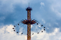 Skyscreamer amusement ride, Great Adventure, Six Flags, New Jersey, USA