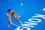 Irina Ramialison of France vs Anastasia Rodionova of Australia during the WTA Prudential Hong Kong Tennis Open at the Victoria Pack Stadium on October 12 2015 in Hong Kong, China. Photo by Moses Ng / Power Sport Images