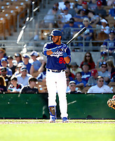 Keibert Ruiz - Los Angeles Dodgers 2018 spring training (Bill Mitchell)