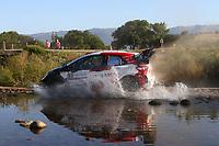 4th June 2021; Alghero, Sardinia; WRC rally of Italia Sardinia, stages  1-8;  Sebastien Ogier-Toyota Yaris WRC