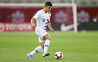 TORONTO, ON - OCTOBER 15: Nick Lima #16 of the United States turns and moves with the ball during a game between Canada and USMNT at BMO Field on October 15, 2019 in Toronto, Canada.
