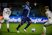 21st November 2020; Adams Park Stadium, Wycombe, Buckinghamshire, England; English Football League Championship Football, Wycombe Wanderers versus Brentford; Adebayo Akinfenwa in action.