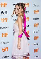 "17 September 2021 - Toronto, Ontario, Canada - Lily-Rose Depp. 2021 Toronto International Film Festival - ""Wolf"" Premiere held at Princess of Wales Theatre. Photo Credit: Brent Perniac/AdMedia"