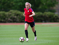 Dallas, TX - April 1, 2017: The USWNT trains in preparation for a pair of friendlies against Russia.