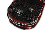 Car stock 2019 Buick Regal-Sportback Essence 5 Door Hatchback engine high angle detail view