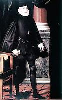 Visual Arts:  Philip II of Spain in old age. Juan Pantoja de La Cruz,  El Escorial.