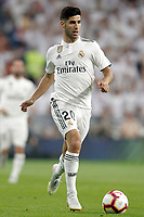 Real Madrid's Marco Asensio during La Liga match. August 19,2018.  *** Local Caption *** © pixathlon<br /> Contact: +49-40-22 63 02 60 , info@pixathlon.de