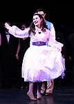"""Lauren Worsham during the Curtain Call for the closing Night performance of  Encores! """"Call Me Madam"""" at City Center on February 10, 2019 in New York City."""