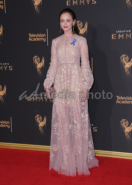 10 September  2017 - Los Angeles, California - Alexis Bidel. 2017 Creative Arts Emmys - Arrivals held at Microsoft Theatre L.A. Live in Los Angeles. Photo Credit: Birdie Thompson/AdMedia