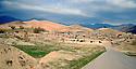 Iraq 2008. Mountains and village in winter  in Candil <br />  Irak 2008 Un village dans les montagnes de Candil