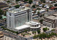 aerial photograph of the Bernalillo County Metropolitan Court building, Albuquerque, New Mexico