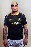 Alex Fidow. 2021 Wellington Lions rugby headshots at Manitoba Place in Wellington, New Zealand on Tuesday, 3 August 2021. Photo: Dave Lintott / lintottphoto.co.nz