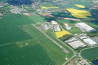 Gera Leumnitz Flugplatz: DEUTSCHLAND,THUEHRINGEN,GERA 9.05.2016: Gera Leumnitz Flugplatz